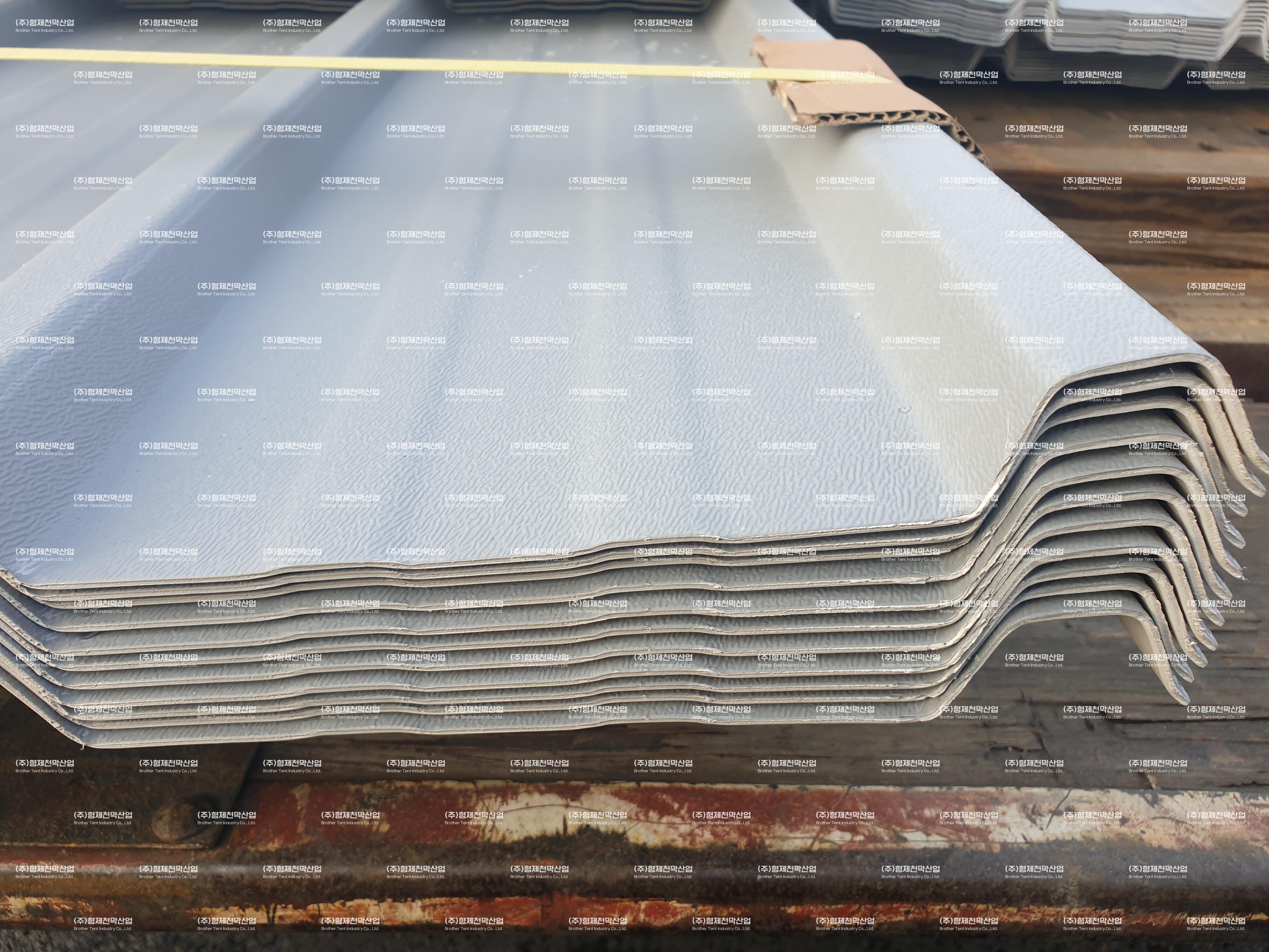 PVC-panel 제품 사용…